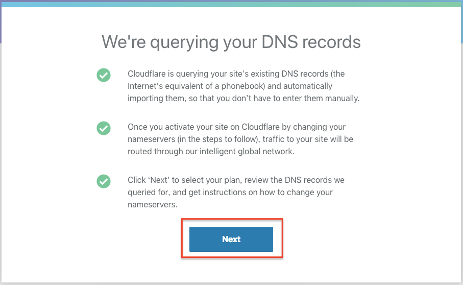 Cloudflare 幫你直接複製原始 DNS 內容