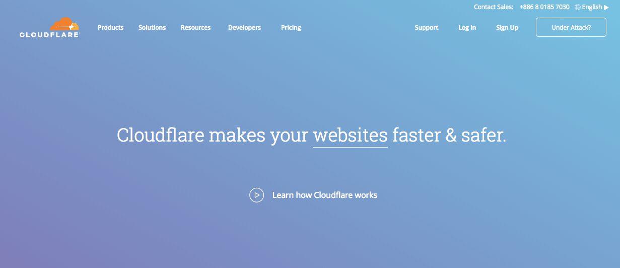 Cloudflare 全球最好用的免費DNS託管 CDN節流 防DDOS 網站加速託管服務