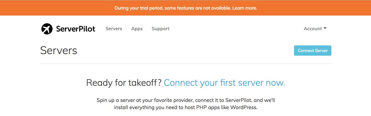 註冊Serverpilot