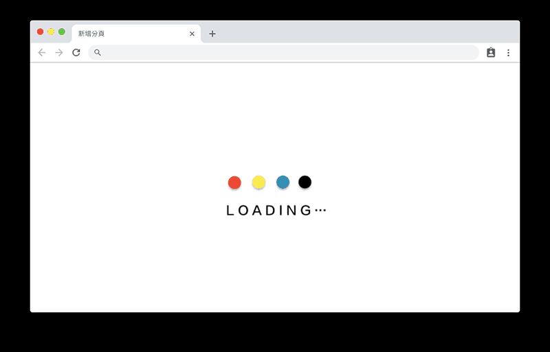 網站載入時間非常重要 Design by Sliven