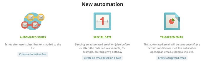 SendPulse 提供自動化 Email 寄送與條件式寄送功能