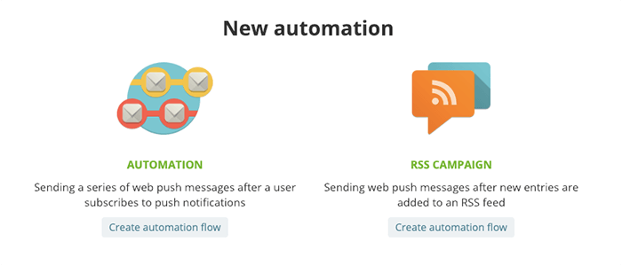 SendPulse 透過 RSS 或條件式自動傳送 Web Push Notification