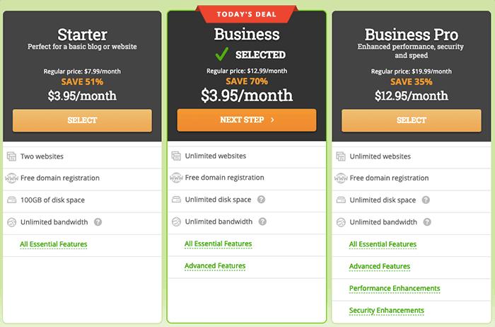 HostPapa 主機優惠方案 - TechMoon 獨家 3 折 70% 註冊價格