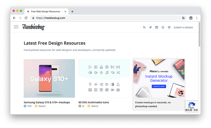 Freebiesbug - 設計師最愛的各種資源素材庫,提供 PSD、Illustrator、Sketch、Font 原始檔案免費下載!