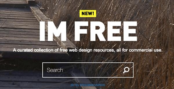 IM Free 精選的免費網頁設計資源,全部用於商業用途的免費圖庫