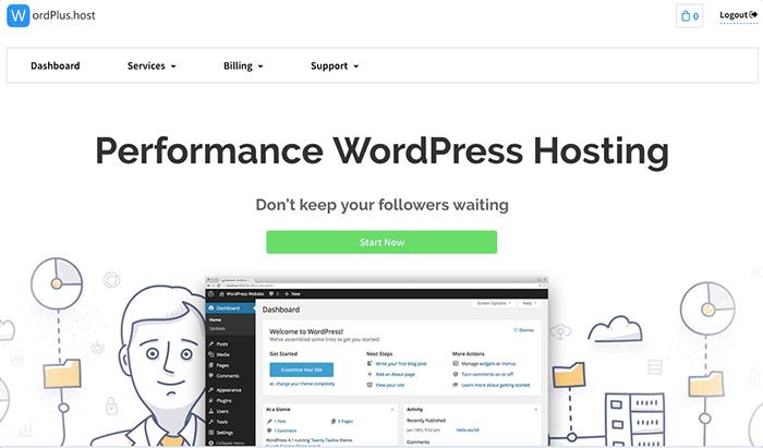今天要來介紹另外一個提供免費虛擬主機空間的主機商「WordPlus.host」,WordPlus.host 的特點在於主打「Performance WordPress Hosting」專門為了 WordPress 優化的虛擬主機。