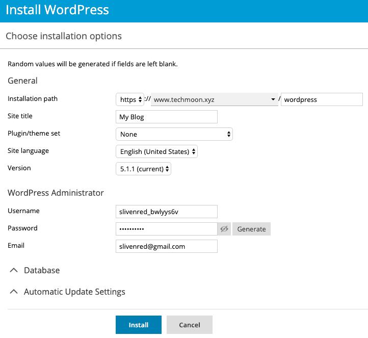設置 WordPress 網站細節