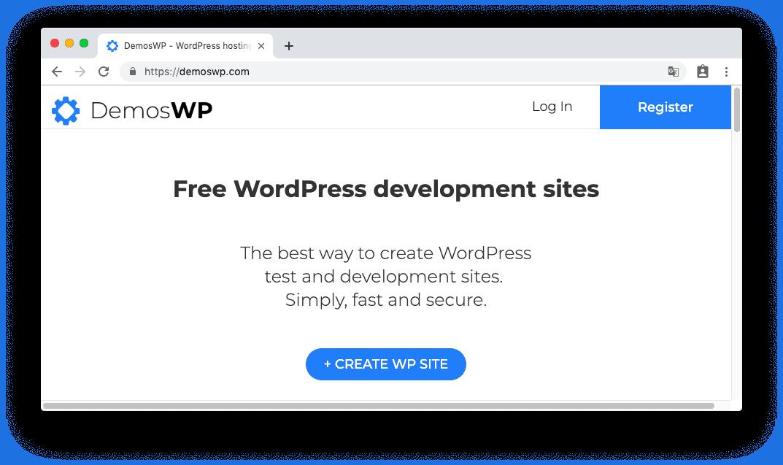 DemosWP - 免費快速建立 WordPress 測試網站,提供 SSL、phpMyAdmin 與 SFTP 功能