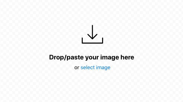 Redacted 透過拖曳就能上傳想要編輯的圖檔