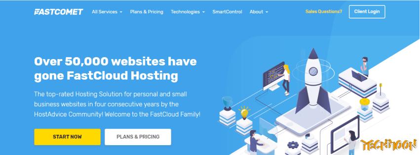 FastComet - WordPress 主機評價,優點缺點詳細介紹