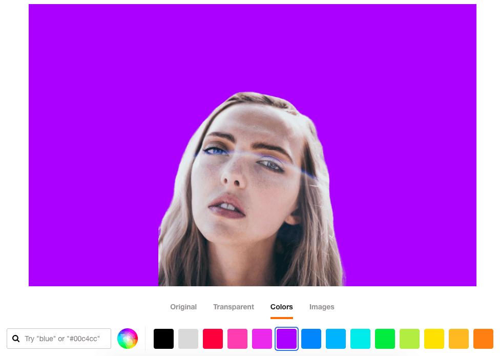 Trace 圖片添加背景顏色