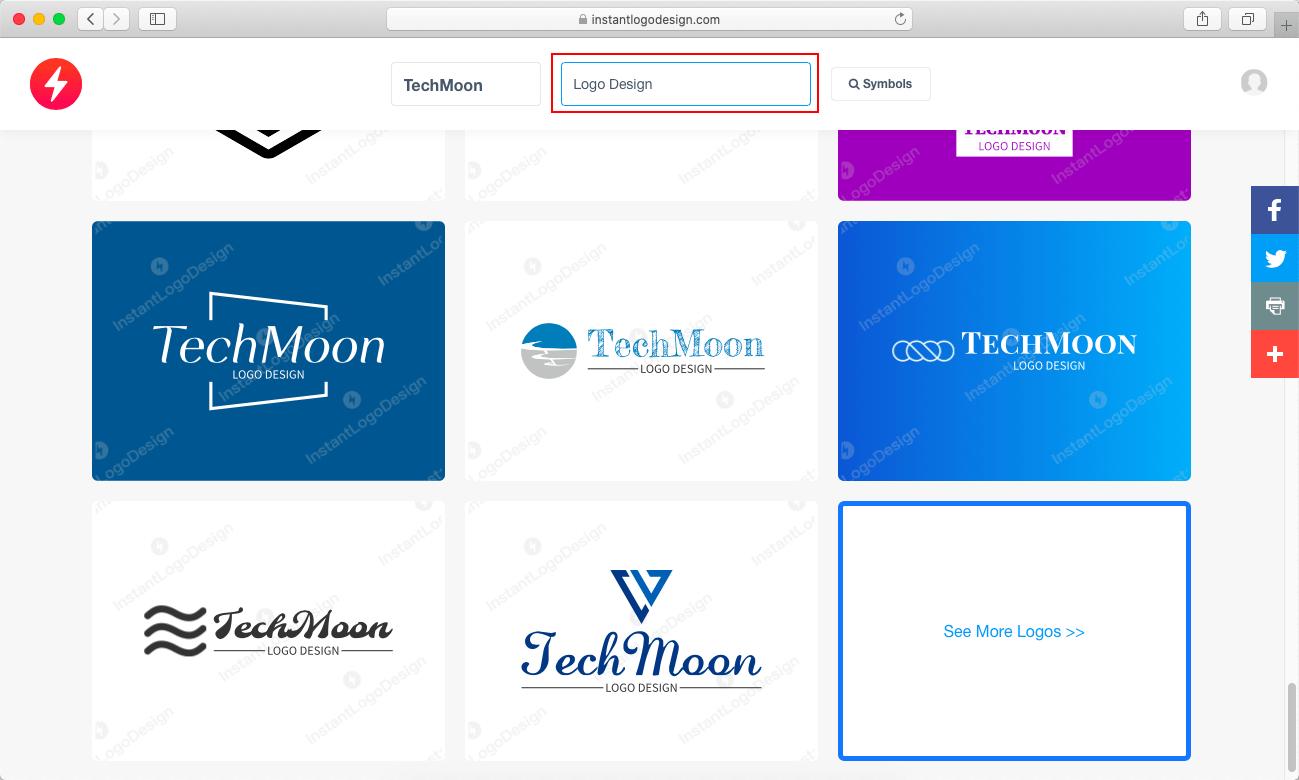 加入 Slogan 重新產生 Logo 樣式