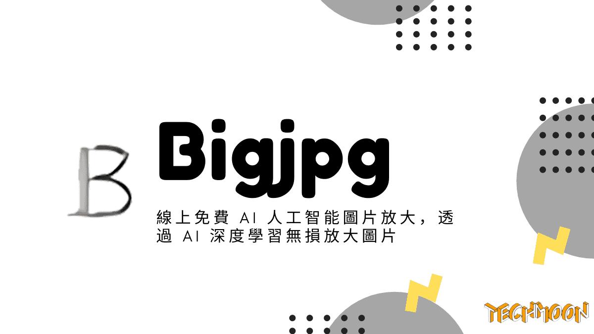 Bigjpg - 線上免費 AI 人工智能圖片放大,透過 AI 深度學習無損放大圖片