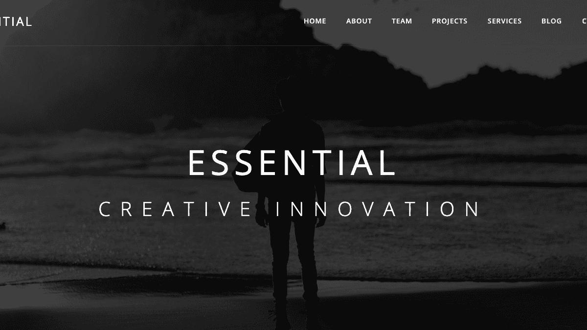 【WordPress 付費主題免費下載】Essential - Responsive Minimal WordPress Theme