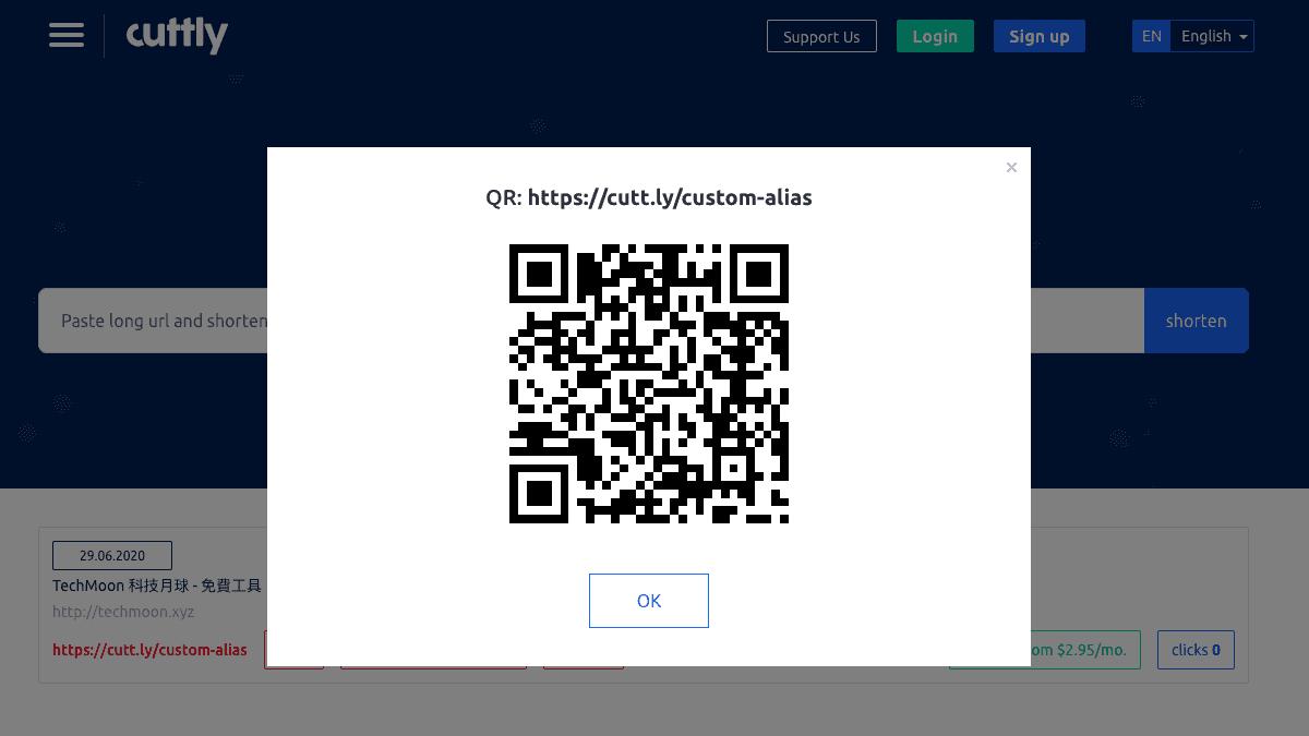 產生 QR Code 圖像