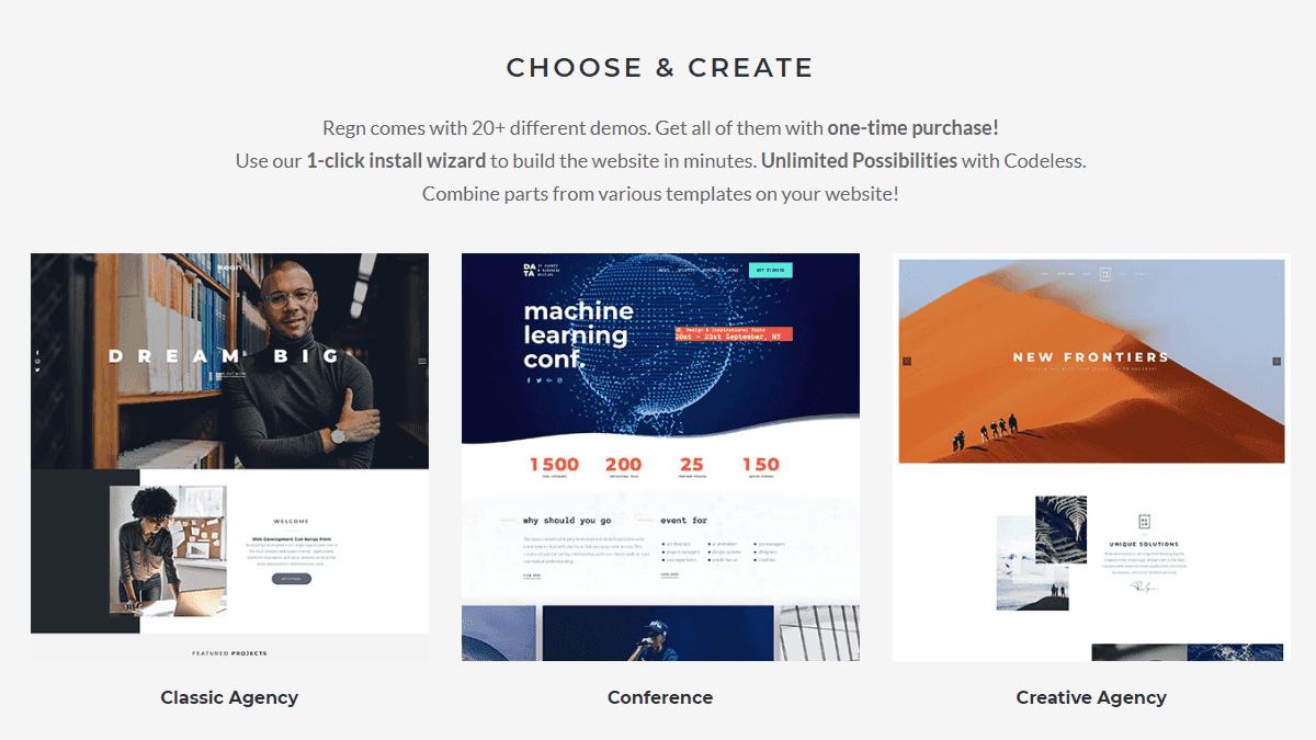 【WordPress 付費主題免費下載】Regn | Multi-Purpose WordPress Theme